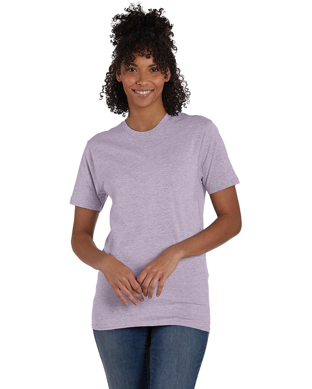 Hanes Unisex Nano-T® T-Shirt MRBL PALE VIOLET