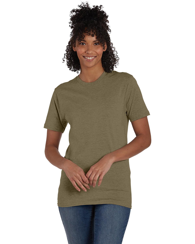 Hanes Unisex Nano-T® T-Shirt OREGANO HEATHER