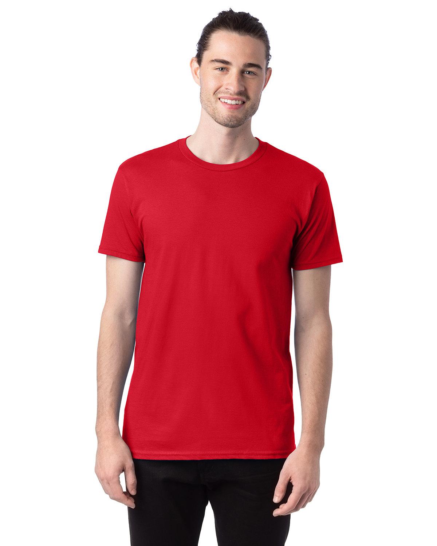 Hanes Unisex Nano-T® T-Shirt ATHLETIC RED