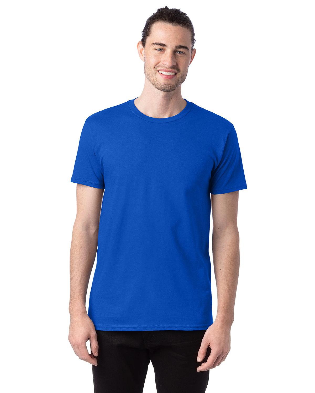 Hanes Unisex Nano-T® T-Shirt BLUEBELL BREEZE