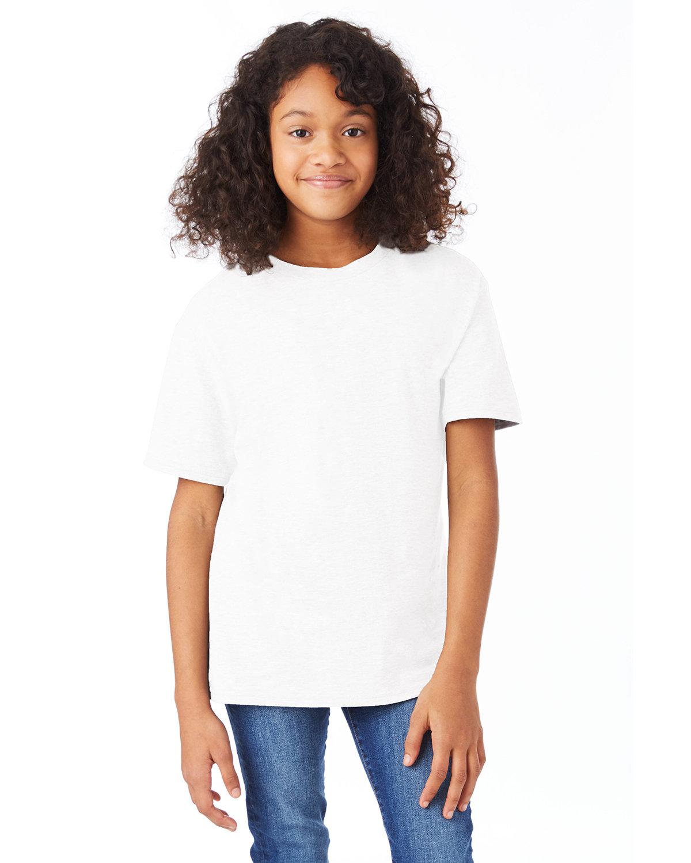 Hanes Youth Nano-T® T-Shirt WHITE