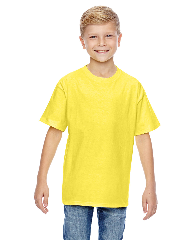 Hanes Youth Nano-T® T-Shirt YELLOW