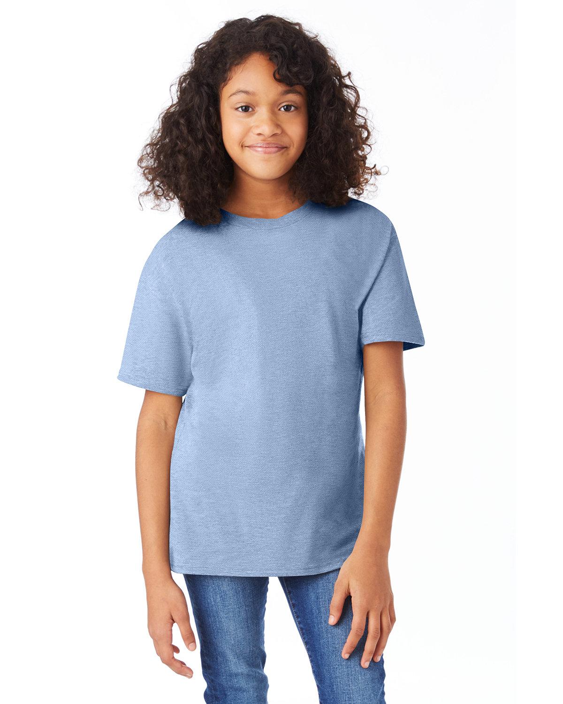 Hanes Youth Nano-T® T-Shirt LIGHT BLUE