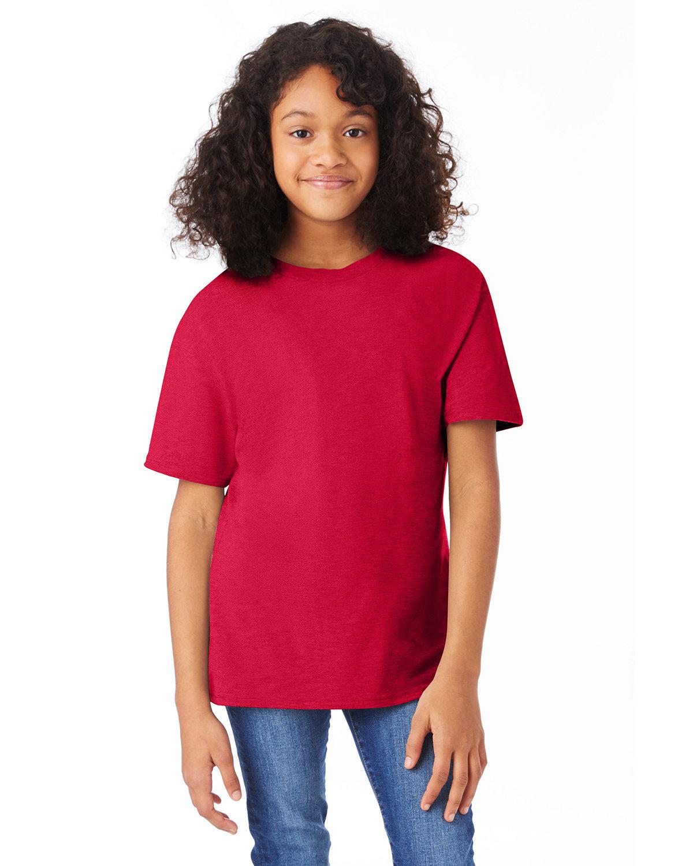 Hanes Youth Nano-T® T-Shirt DEEP RED