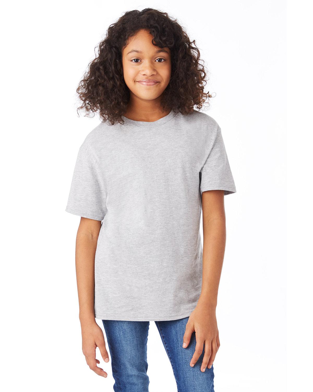 Hanes Youth Nano-T® T-Shirt LIGHT STEEL