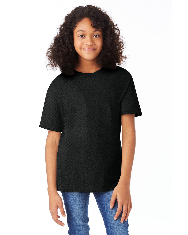 Hanes Youth Nano-T® T-Shirt BLACK