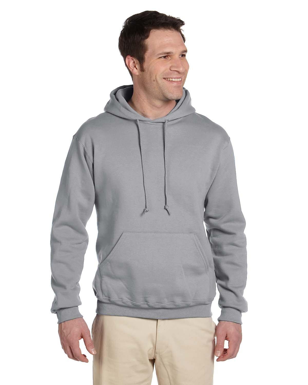 Jerzees Adult Super Sweats® NuBlend® Fleece Pullover Hooded Sweatshirt OXFORD