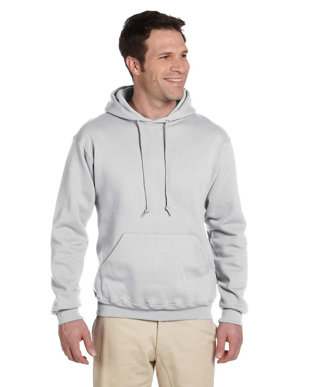 Jerzees Adult Super Sweats® NuBlend® Fleece Pullover Hooded Sweatshirt ASH