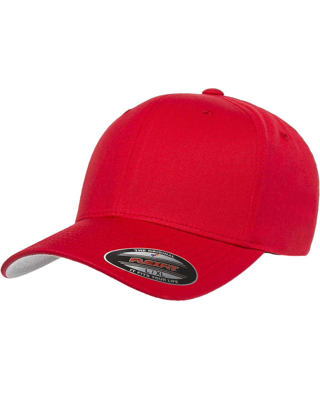 Flexfit Adult Value Cotton Twill Cap RED