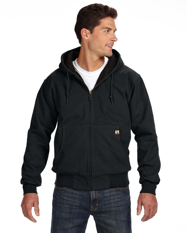 Dri Duck Men's Tall Cheyenne Jacket BLACK