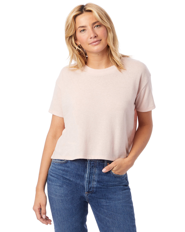 Alternative Ladies' Headliner Cropped T-Shirt VINT FADED PINK