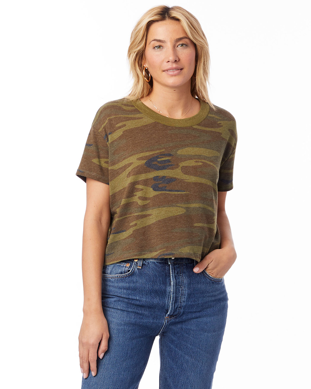 Alternative Ladies' Headliner Cropped T-Shirt CAMO