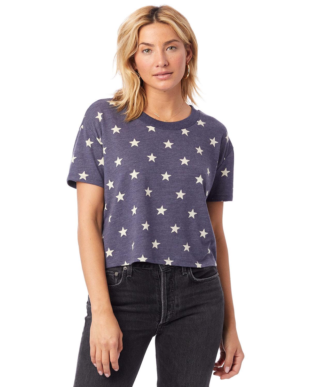 Alternative Ladies' Headliner Cropped T-Shirt STARS