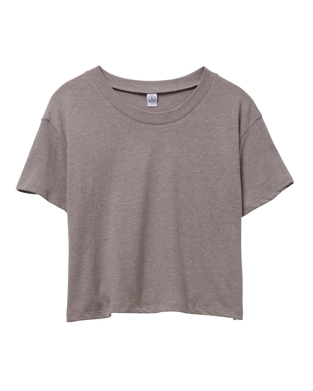 Alternative Ladies' Headliner Cropped T-Shirt SMOKE GREY