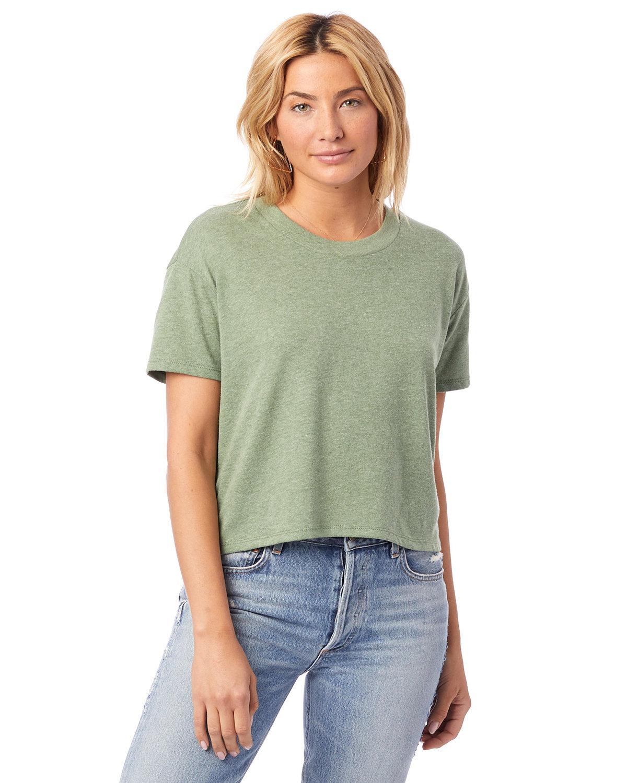Alternative Ladies' Headliner Cropped T-Shirt VINTAGE PINE