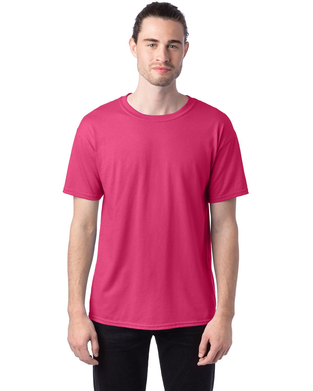 Hanes Unisex 50/50 T-Shirt WOW PINK