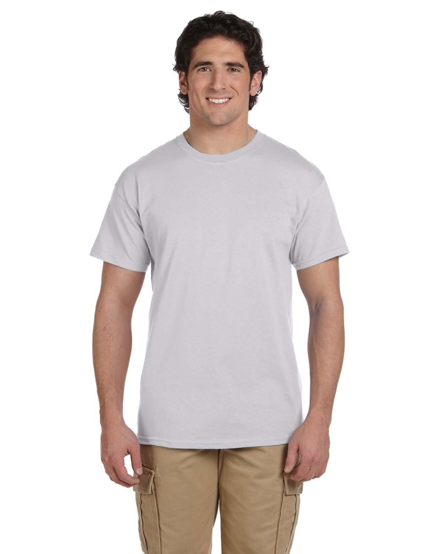 Hanes Unisex 50/50 T-Shirt LIGHT STEEL