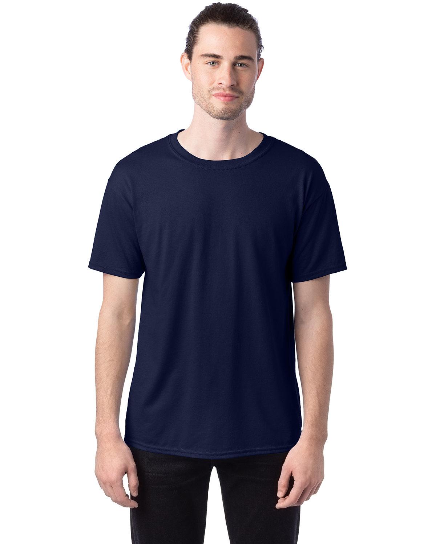 Hanes Unisex 50/50 T-Shirt NAVY