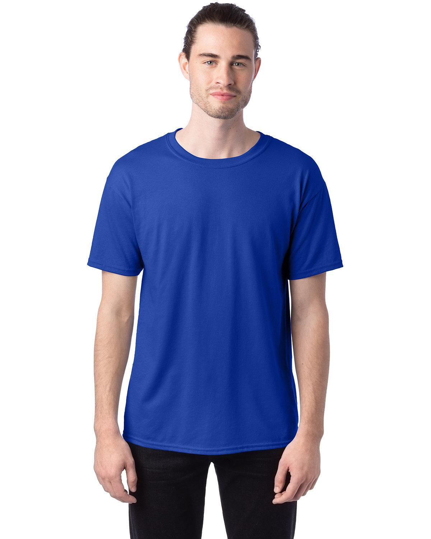Hanes Unisex 50/50 T-Shirt DEEP ROYAL