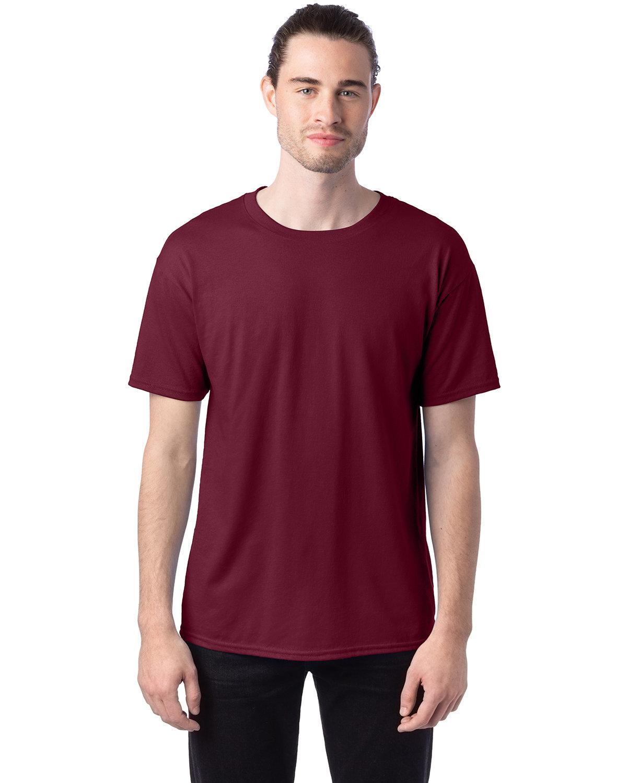 Hanes Unisex 50/50 T-Shirt MAROON