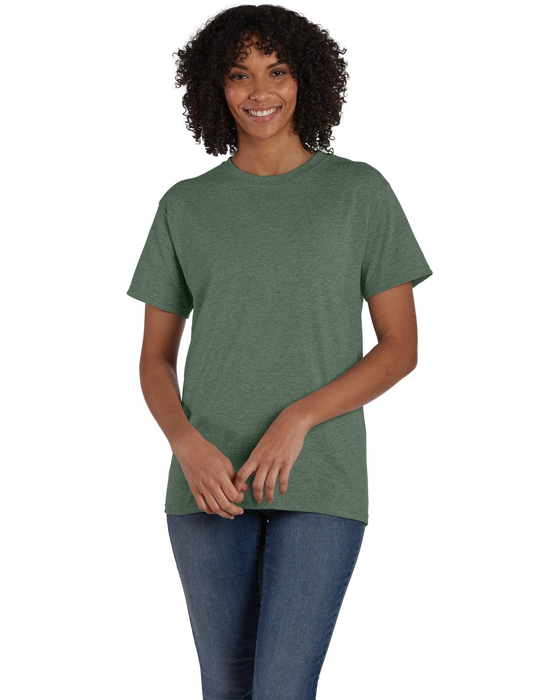 Hanes Unisex 50/50 T-Shirt HEATHER GREEN
