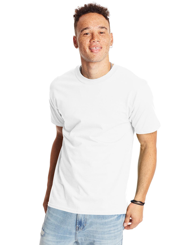 Hanes Unisex Beefy-T® T-Shirt WHITE