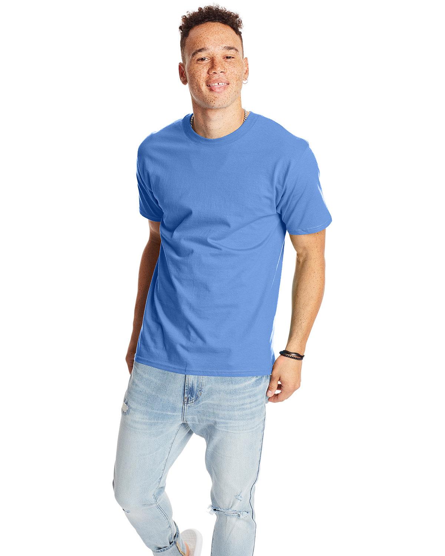 Hanes Unisex Beefy-T® T-Shirt CAROLINA BLUE