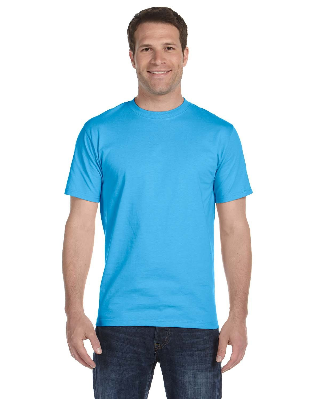 Hanes Unisex Beefy-T® T-Shirt AQUATIC BLUE