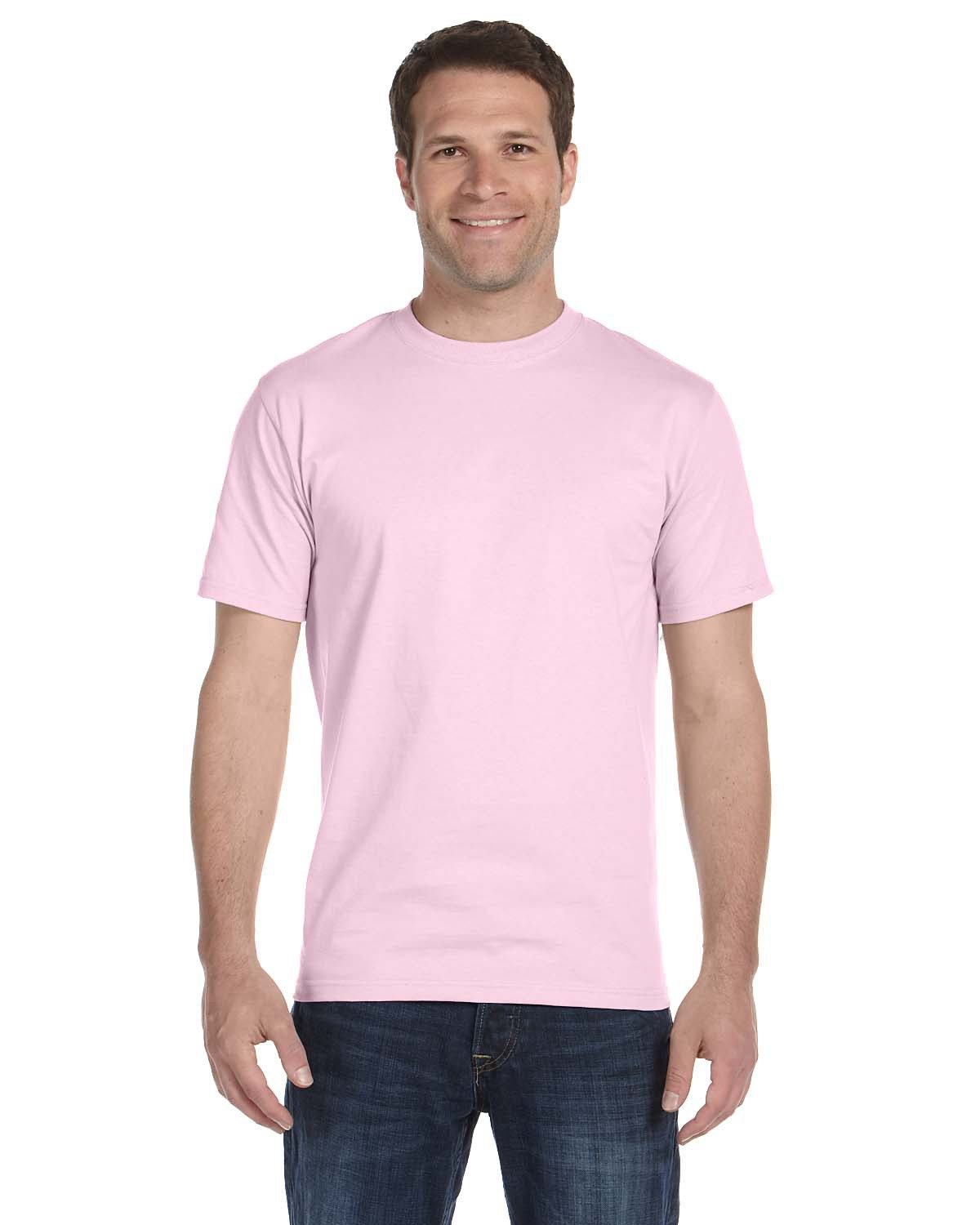 Hanes Unisex Beefy-T® T-Shirt PALE PINK