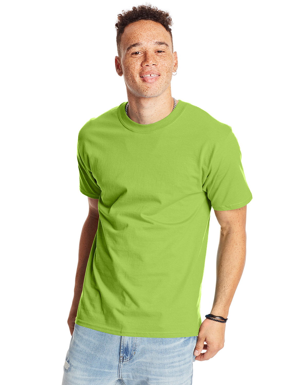Hanes Unisex Beefy-T® T-Shirt LIME