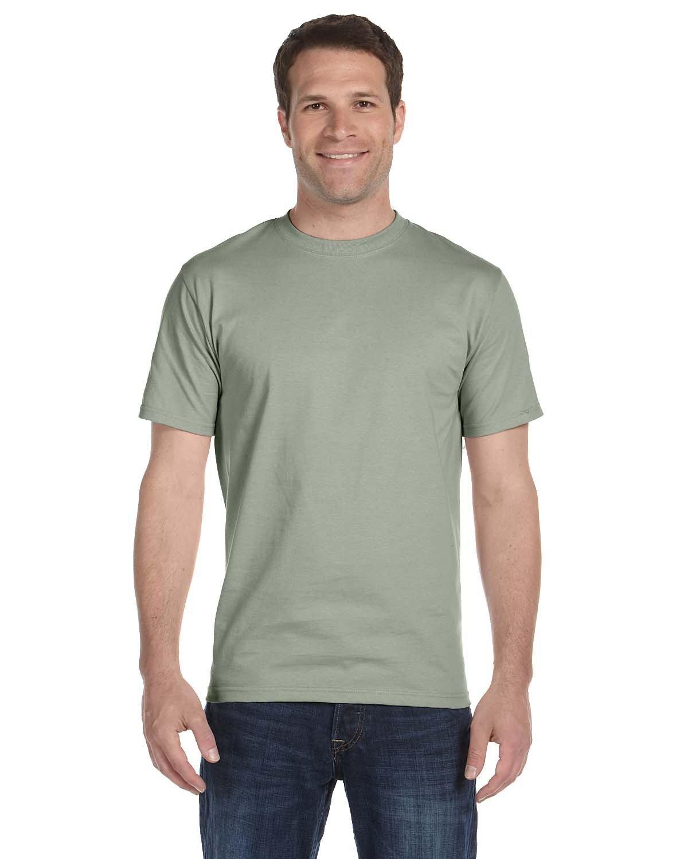 Hanes Unisex Beefy-T® T-Shirt STONEWASH GREEN