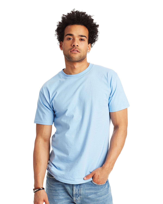 Hanes Unisex Beefy-T® T-Shirt LIGHT BLUE
