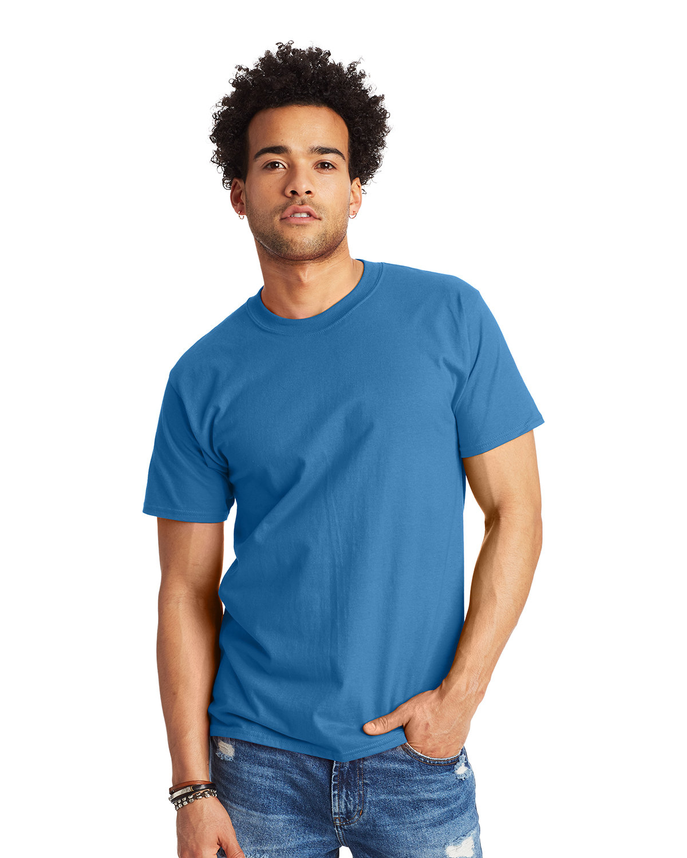 Hanes Unisex Beefy-T® T-Shirt DENIM BLUE