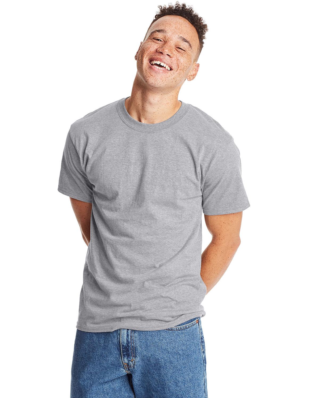 Hanes Unisex Beefy-T® T-Shirt LIGHT STEEL