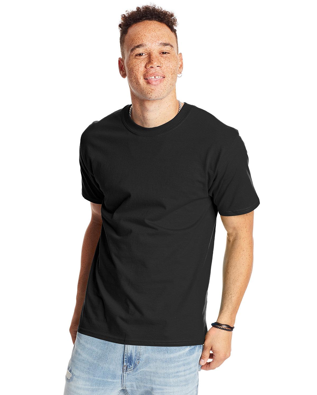 Hanes Unisex Beefy-T® T-Shirt BLACK