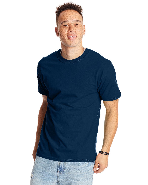 Hanes Unisex Beefy-T® T-Shirt NAVY