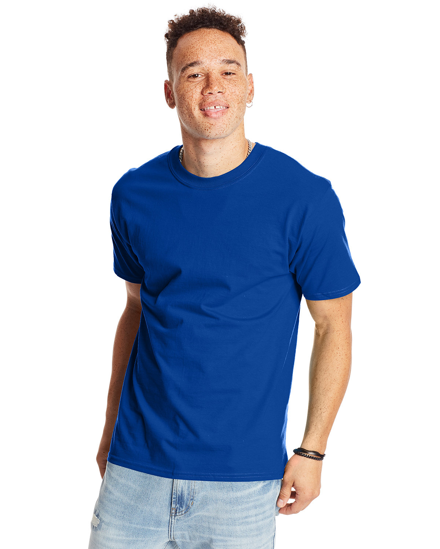 Hanes Unisex Beefy-T® T-Shirt DEEP ROYAL
