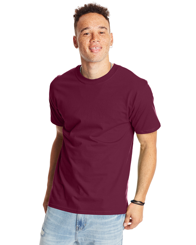 Hanes Unisex Beefy-T® T-Shirt MAROON