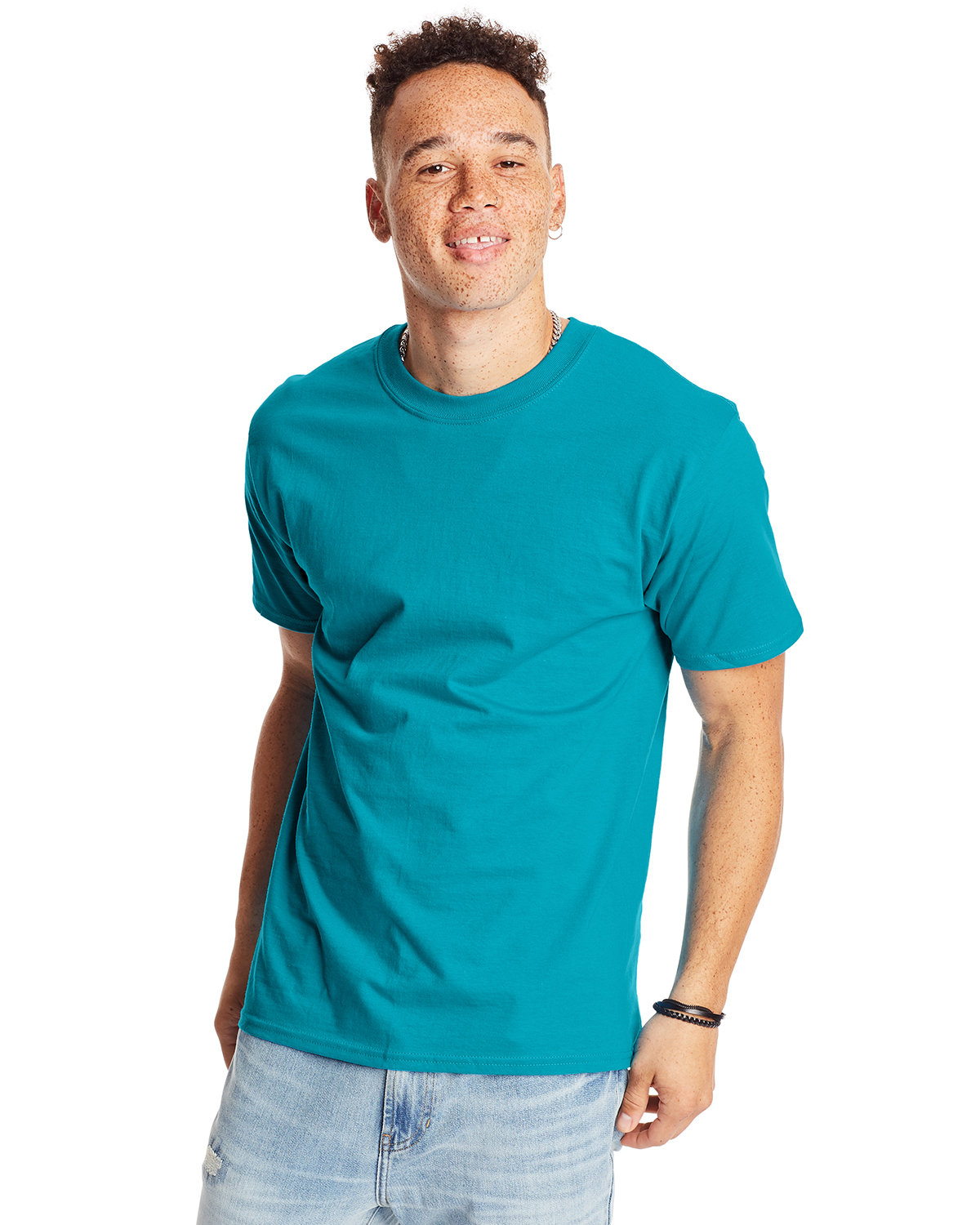 Hanes Unisex Beefy-T® T-Shirt TEAL