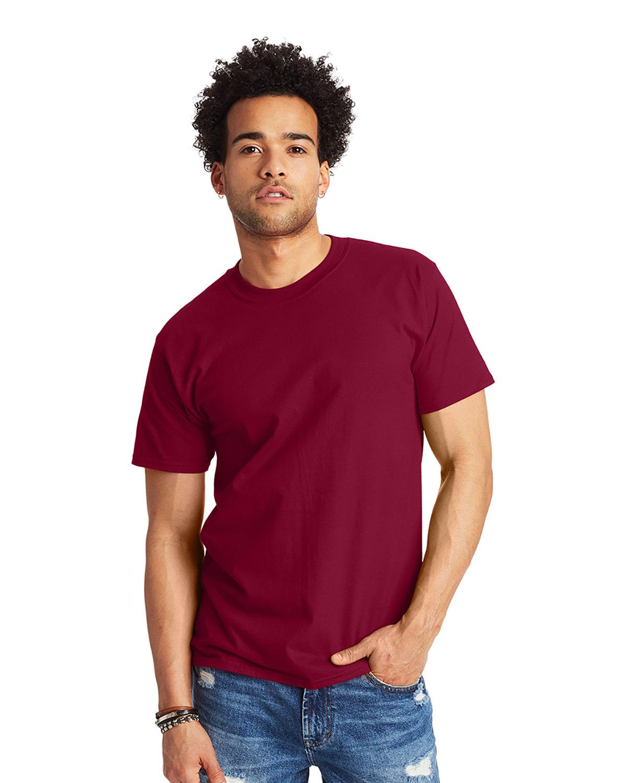 Hanes Unisex Beefy-T® T-Shirt CARDINAL