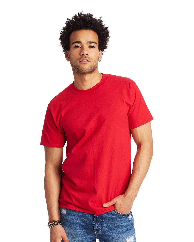 Hanes Unisex Beefy-T® T-Shirt DEEP RED