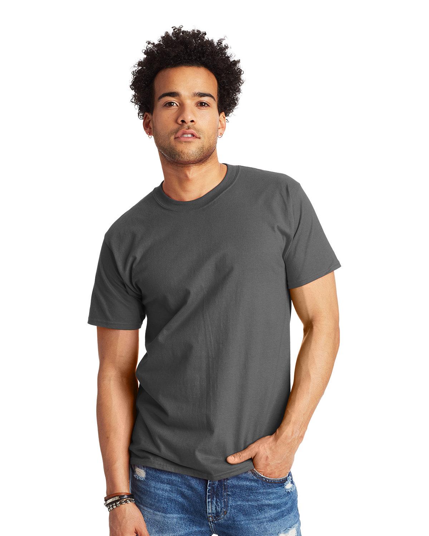 Hanes Unisex Beefy-T® T-Shirt SMOKE GRAY