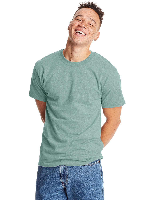 Hanes Unisex Beefy-T® T-Shirt CLN MINT PPR HTH