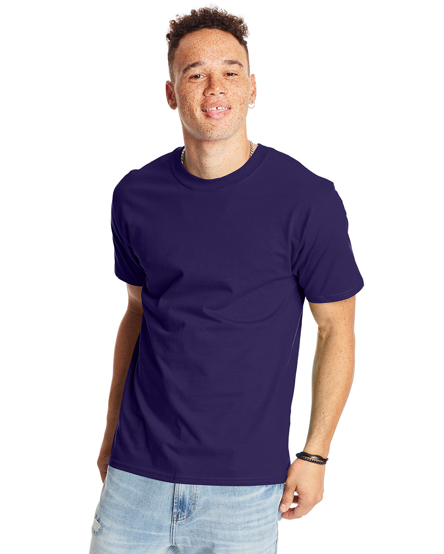 Hanes Unisex Beefy-T® T-Shirt GRAPE SMASH