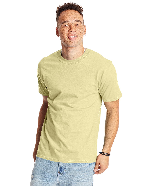 Hanes Unisex Beefy-T® T-Shirt LEMON MERINGUE
