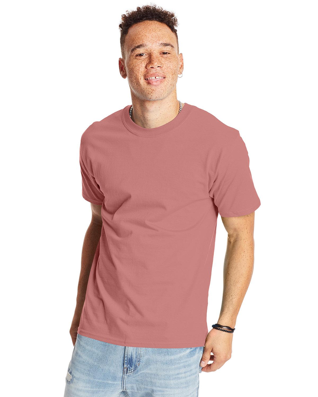 Hanes Unisex Beefy-T® T-Shirt MAUVE