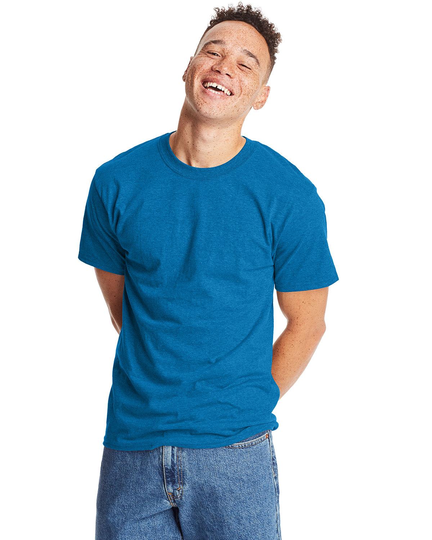 Hanes Unisex Beefy-T® T-Shirt SAPPHIRE PPR HTH
