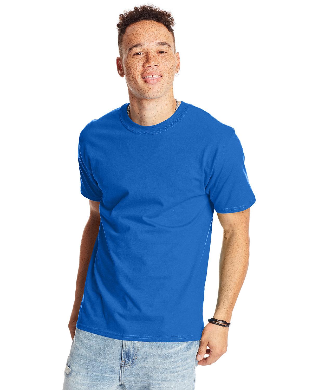 Hanes Unisex Beefy-T® T-Shirt BLUEBELL BREEZE