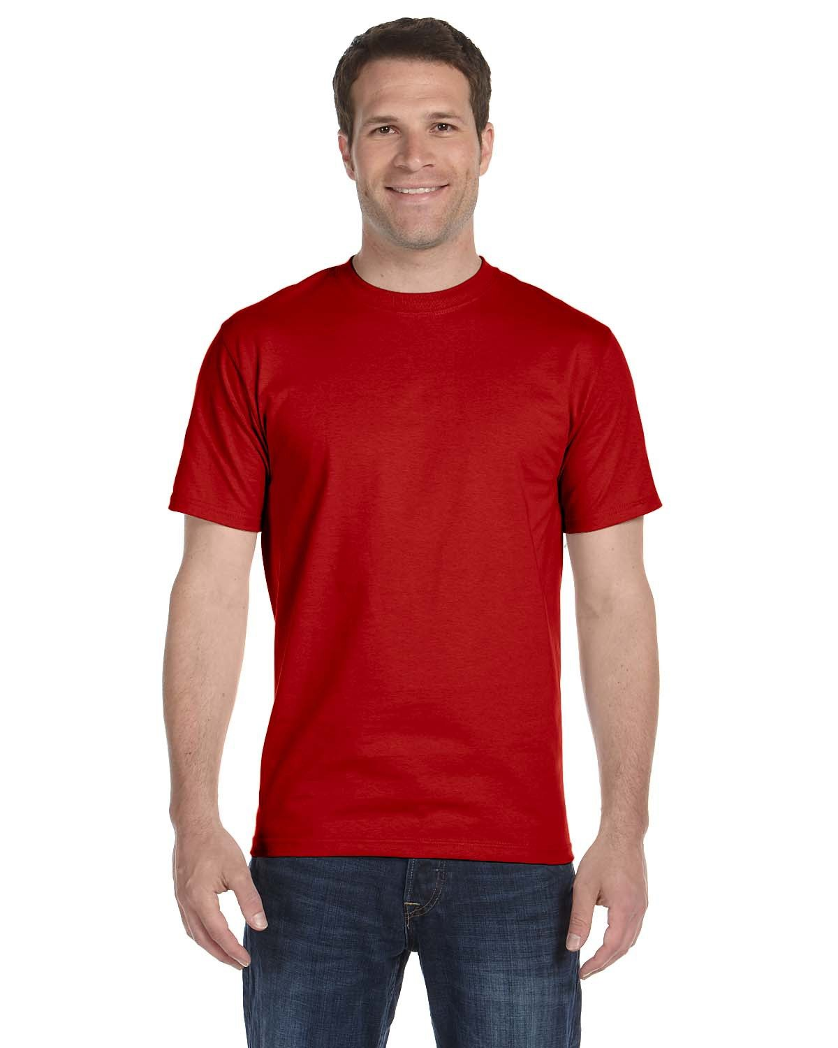 Hanes Men's Tall  Beefy-T® DEEP RED