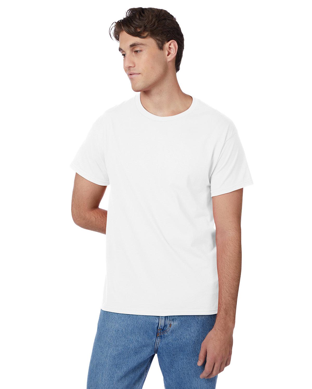 Hanes Men's Authentic-T T-Shirt WHITE